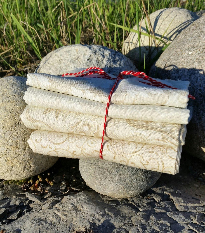 Beige Drømme pakke med 4 stk forskjellige stoffer