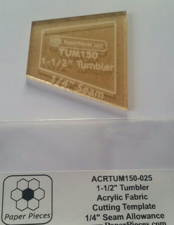 Tumbler 1 1/2 inch Acryl mal