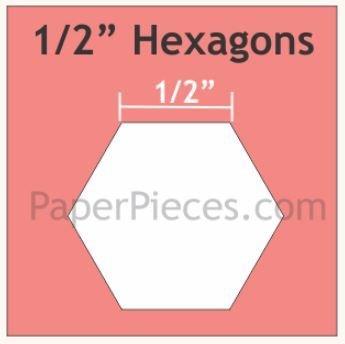 Hexagon 750 stk 1/2 inch