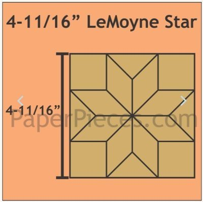 LeMoyne Star 4 11/16
