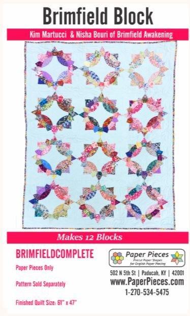 Brimfild Papirmaler 12 blokker