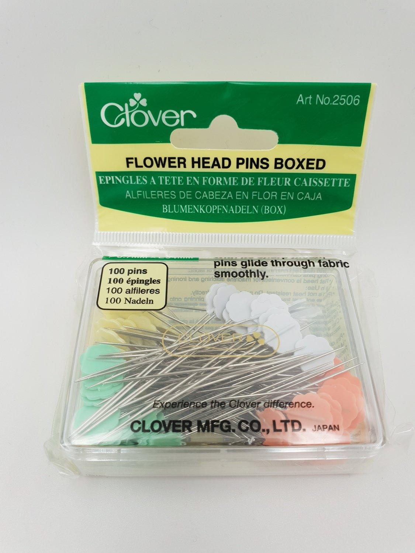 Flower head knappenåler