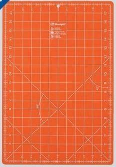 Omnigrid Skjærematte - kuttematte 30x45 cm, Orange