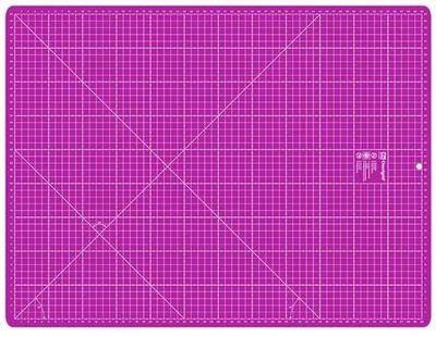 Omnigrid Skjærematte - kuttematte 45x60 cm, Rosa