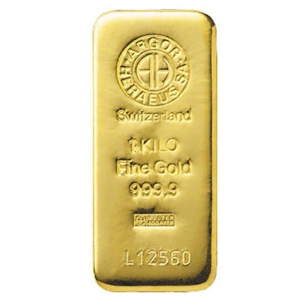 Lingotto di oro 999.99 da 1000 gr F8