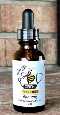 Tincture, 600mg., Citrus Honey