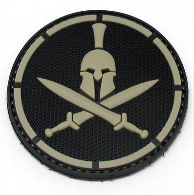 Tactical Morale Patch - Spartan Helmet