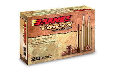 Barnes, VOR-TX, 223 Rem, 55 Grain, Triple Shock X, Lead Free, 20 Round Box