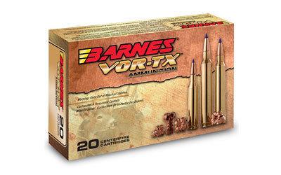 Barnes, VOR-TX, 223 Rem, 55 Grain, Triple Shock X, Lead Free, 20 Round Box
