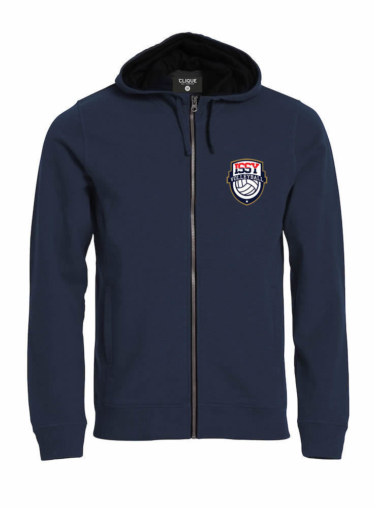 SWEAT-SHIRT ZIPPE HOMME ISSY VOLLEY 021044