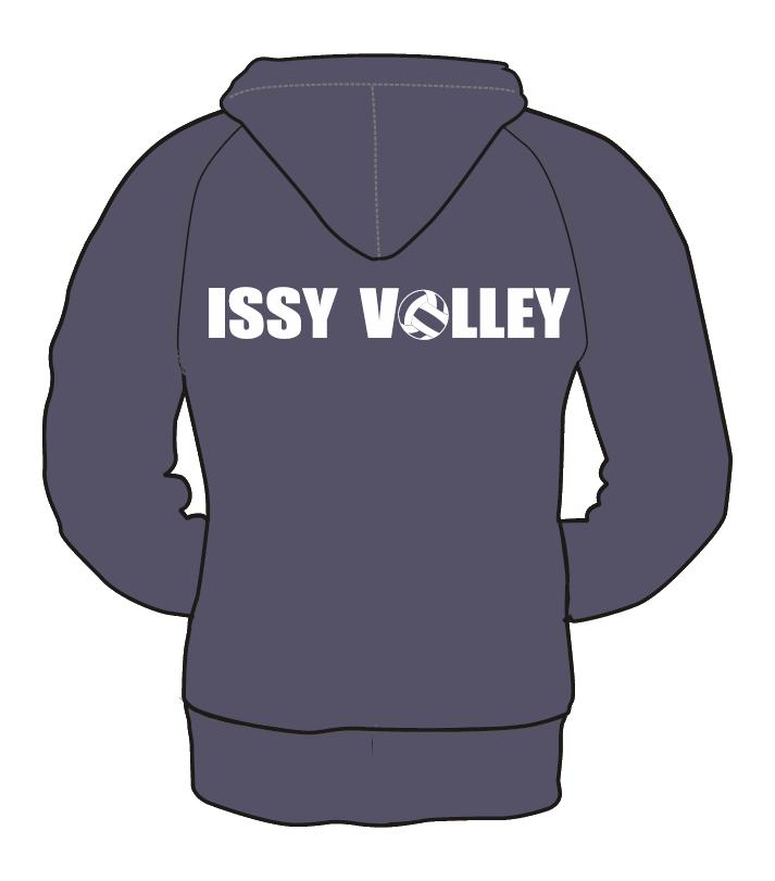 SWEAT-SHIRT ZIPPE FEMME ISSY VOLLEY