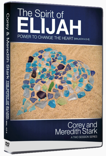 The Spirit of Elijah - Power to Change the Heart - Our Family Testimony of Restoration! (MP3-CD)