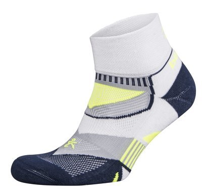 Enduro Quarter Socks White/Ink