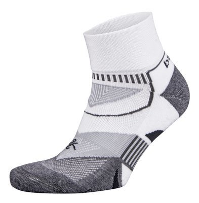 Enduro Quarter Socks White/Grey