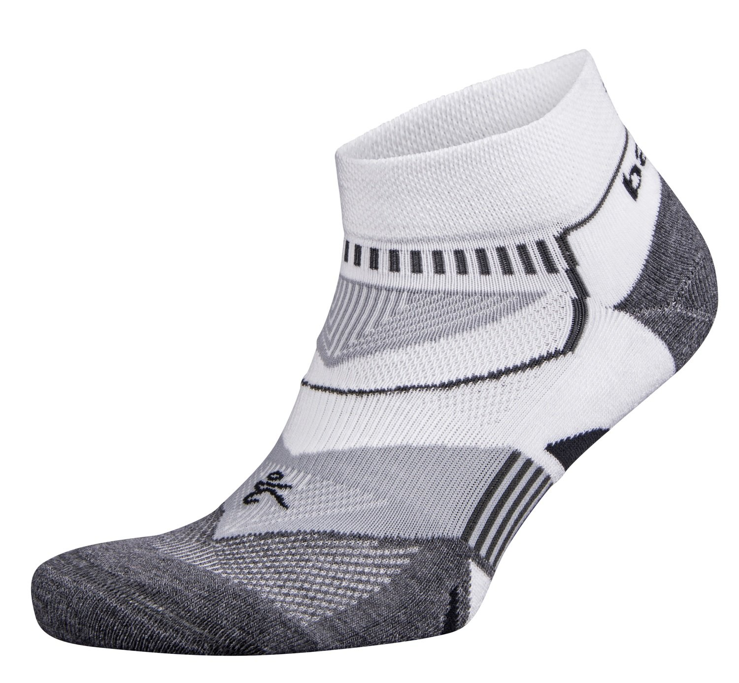 Enduro Low Cut Socks White/Grey/Heather