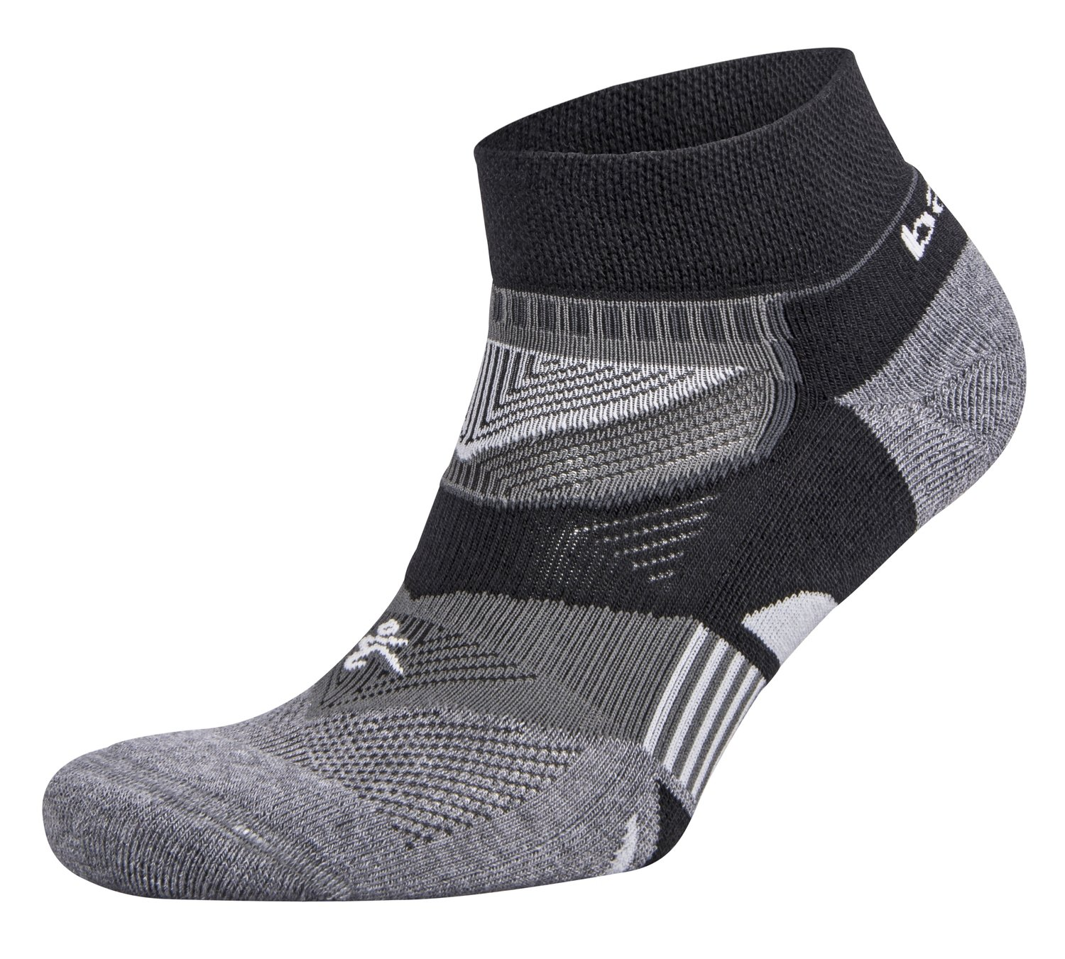Enduro Low Cut Socks Black/Grey