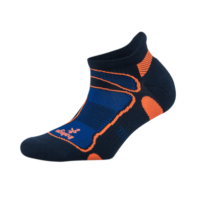 Ultra Light No Show Technical Running Sock - Ink/Cobalt