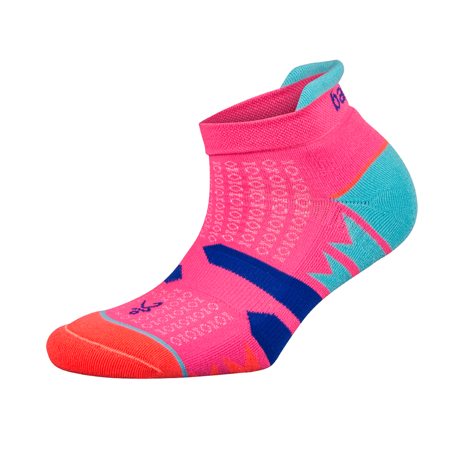 Womens Enduro NoShow Socks Watermelon/ Orange