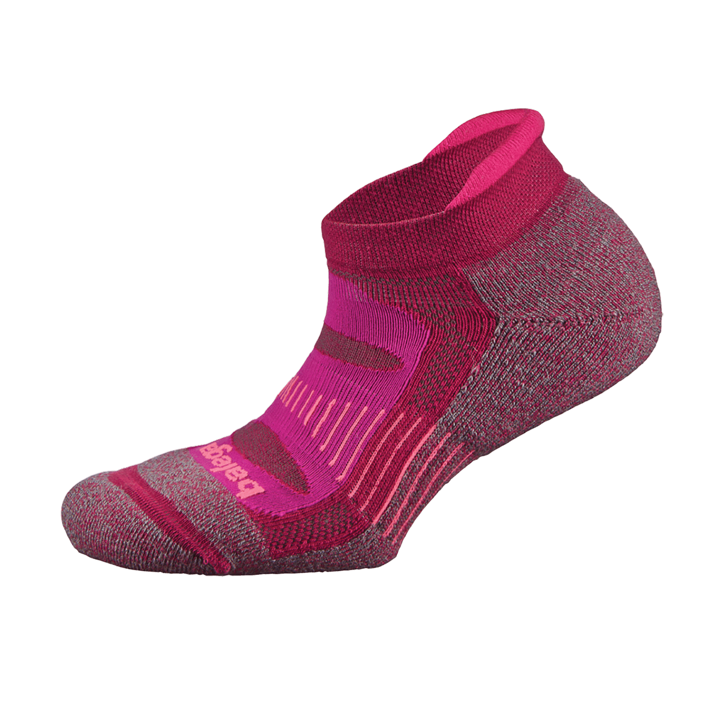Blister Resist NoShow Sock Fuschia