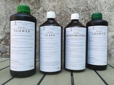 Gaia Products Plant nutrition - full set - 4x 1.0l bottle