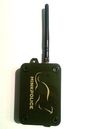 Mink-Police, inkl. Sim-Karte und Batterien