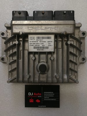Peugeot 407 2.0 HDI Calculateur moteur DELPHI 9663612380