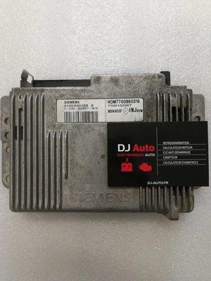 Renault Calculateur moteur Megane 1.6 Siemens S105300103 B 7700102267