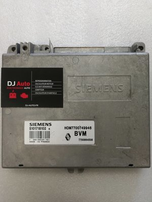 Renault Calculateur moteur Clio 1.4 Siemens S101718102 E 7700864508