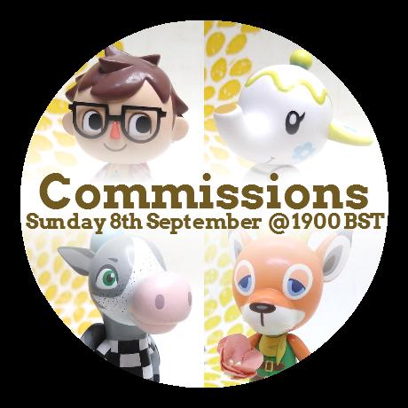 Figurine Commission Slot - September 2019