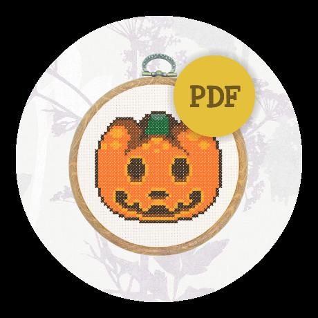 October Special! Cross stitch pattern - Jack