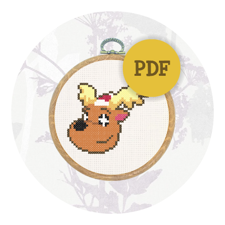 December Special! Cross stitch pattern - Jingle