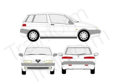 Kit Pellicole 3M Alfa Romeo 145