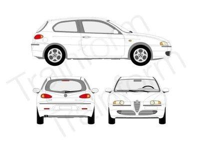 Kit Pellicole 3M Alfa Romeo 147