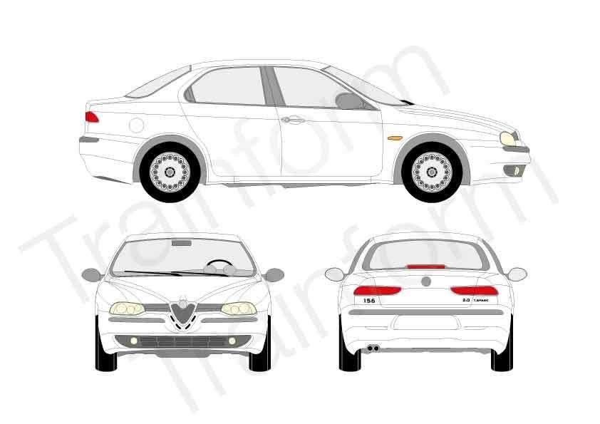 Kit Pellicole 3M Alfa Romeo 156