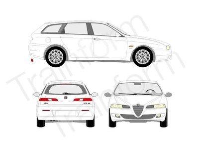 Kit Pellicole 3M Alfa Romeo 156 Sport Wagon II