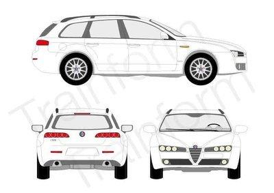 Kit Pellicole 3M Alfa Romeo 159 Sport Wagon