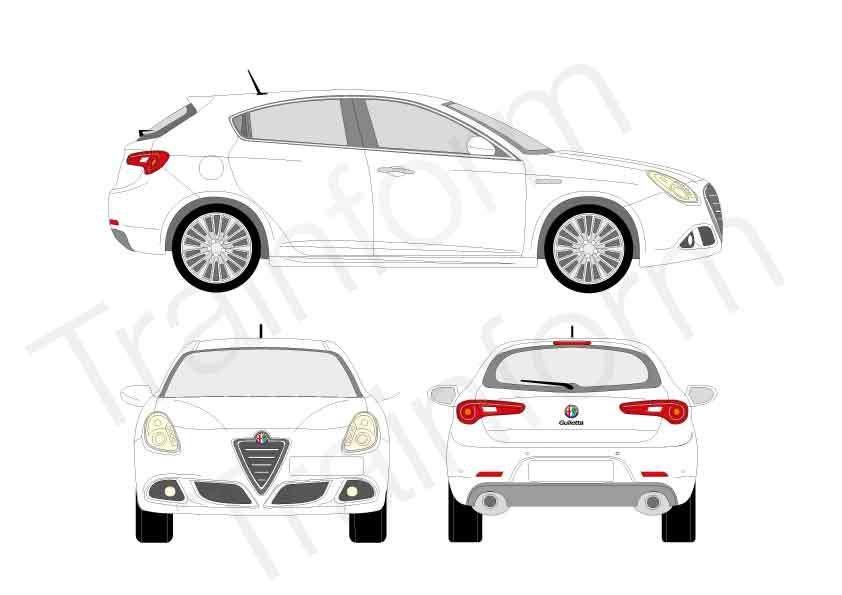 Kit Pellicole 3M Alfa Romeo Giulietta
