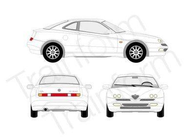 Kit Pellicole 3M Alfa Romeo GTV