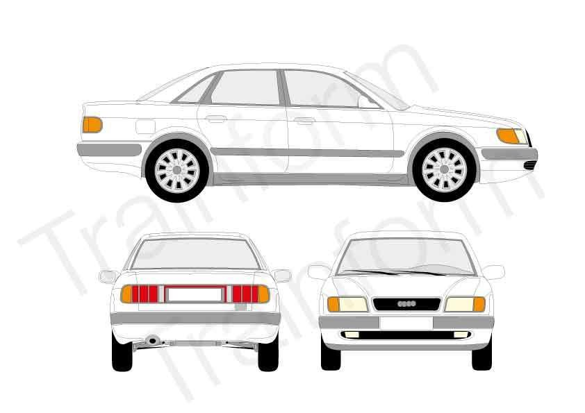 Audi 100 4P 1990