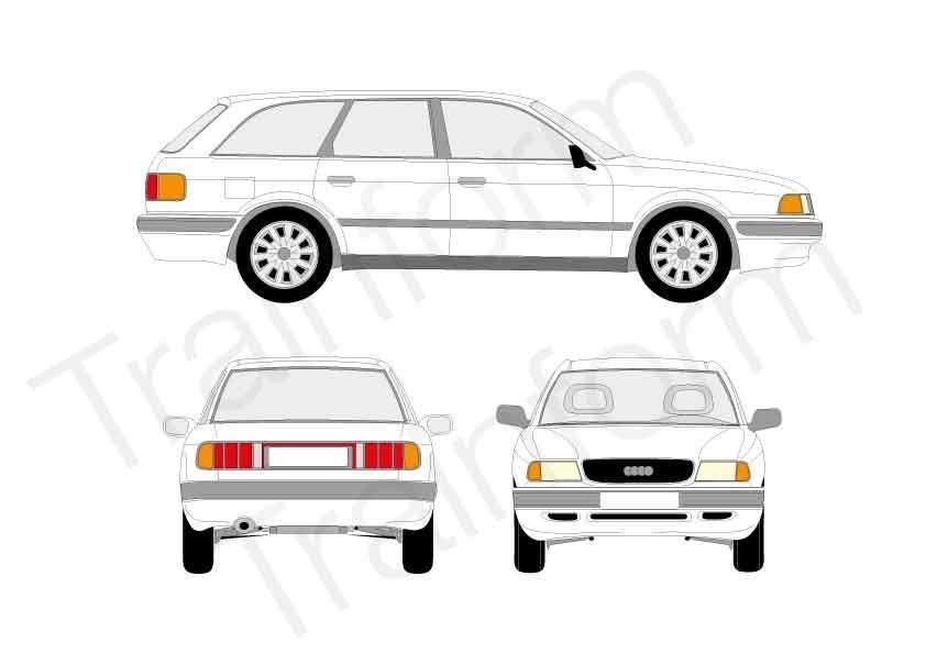 Audi 80 SW 1991