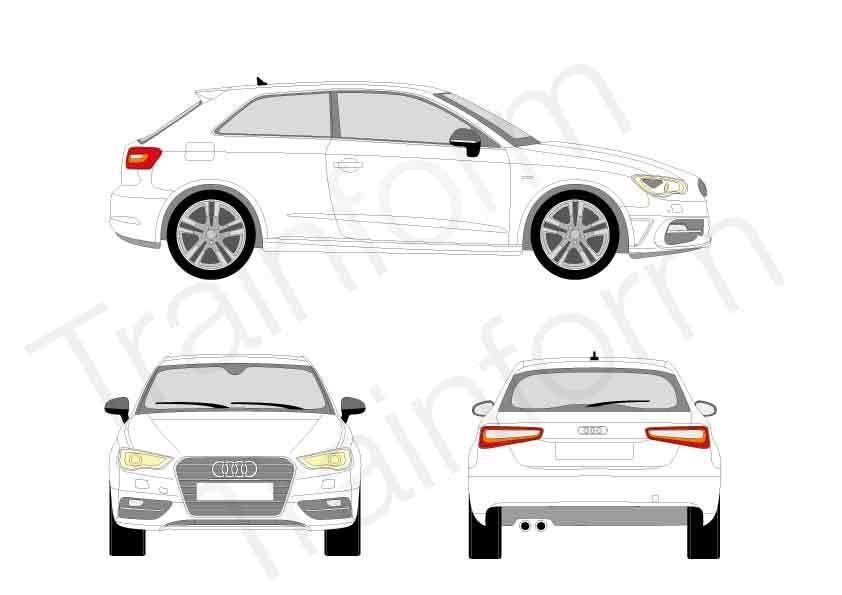 Audi A3 3P 2012
