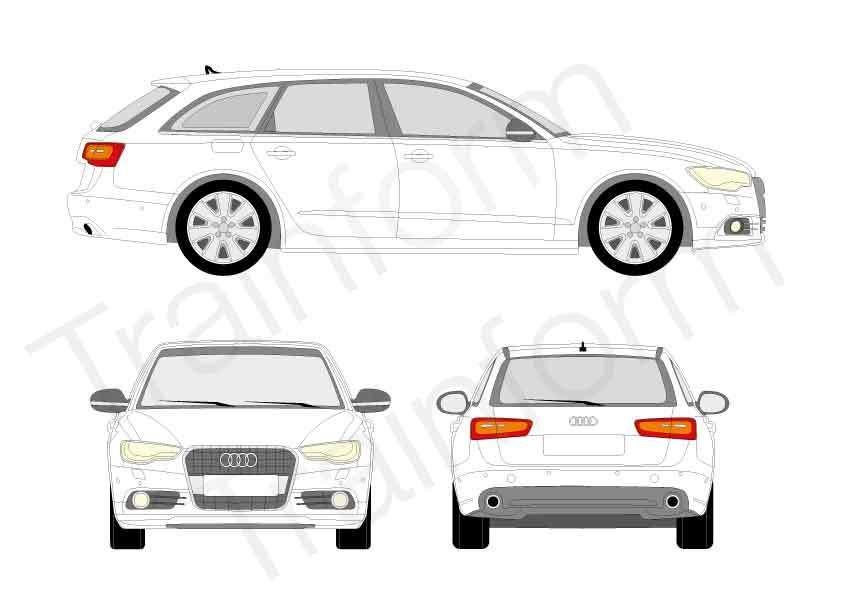 Audi A6 SW 2011