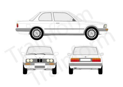 BMW Serie 3 2P 1990