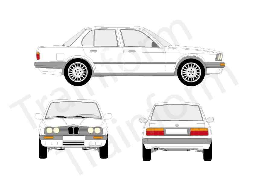 BMW Serie 3 4P 1990