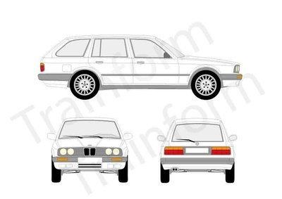 BMW Serie 3 SW 1991