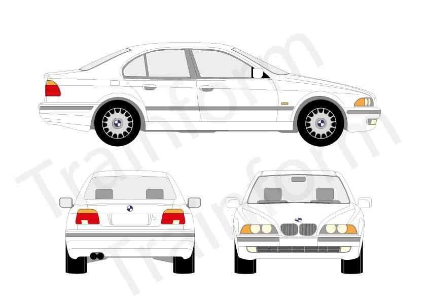 BMW Serie 5 4P 1996
