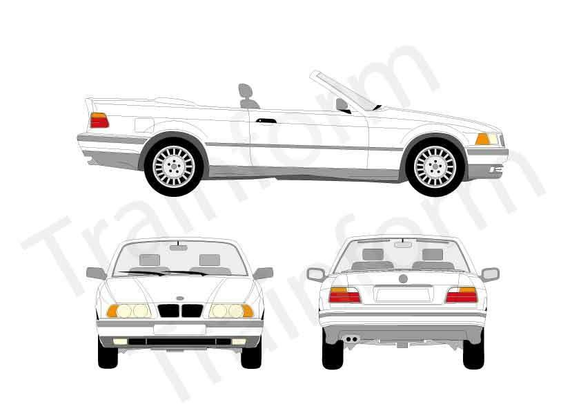 BMW Serie 3 Cabrio 1993