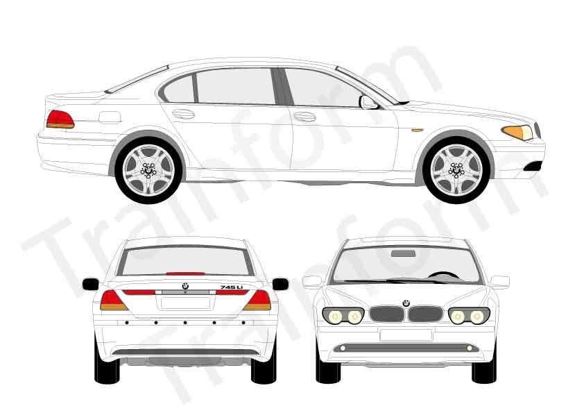 BMW Serie 7 limousine 2002