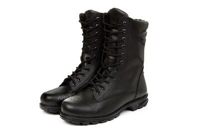 Военные берцы кожаные