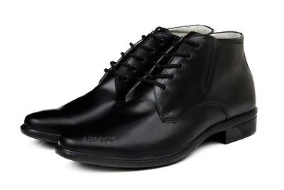 Военные ботинки на шнурках